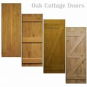 Internal Oak Door - Traditional - Cottage Door - Ledged - Made to Measure